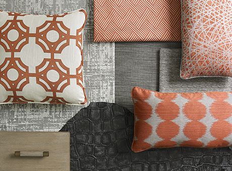 Latest Color Trends In The Home Furnishings And Fashion Industries Fascinating Terracotta Decorative Pillows