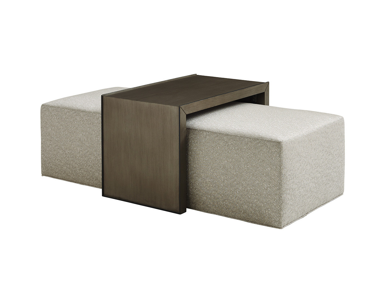 Wondrous Savona Cocktail Ottoman With Slide Lexington Home Brands Ocoug Best Dining Table And Chair Ideas Images Ocougorg