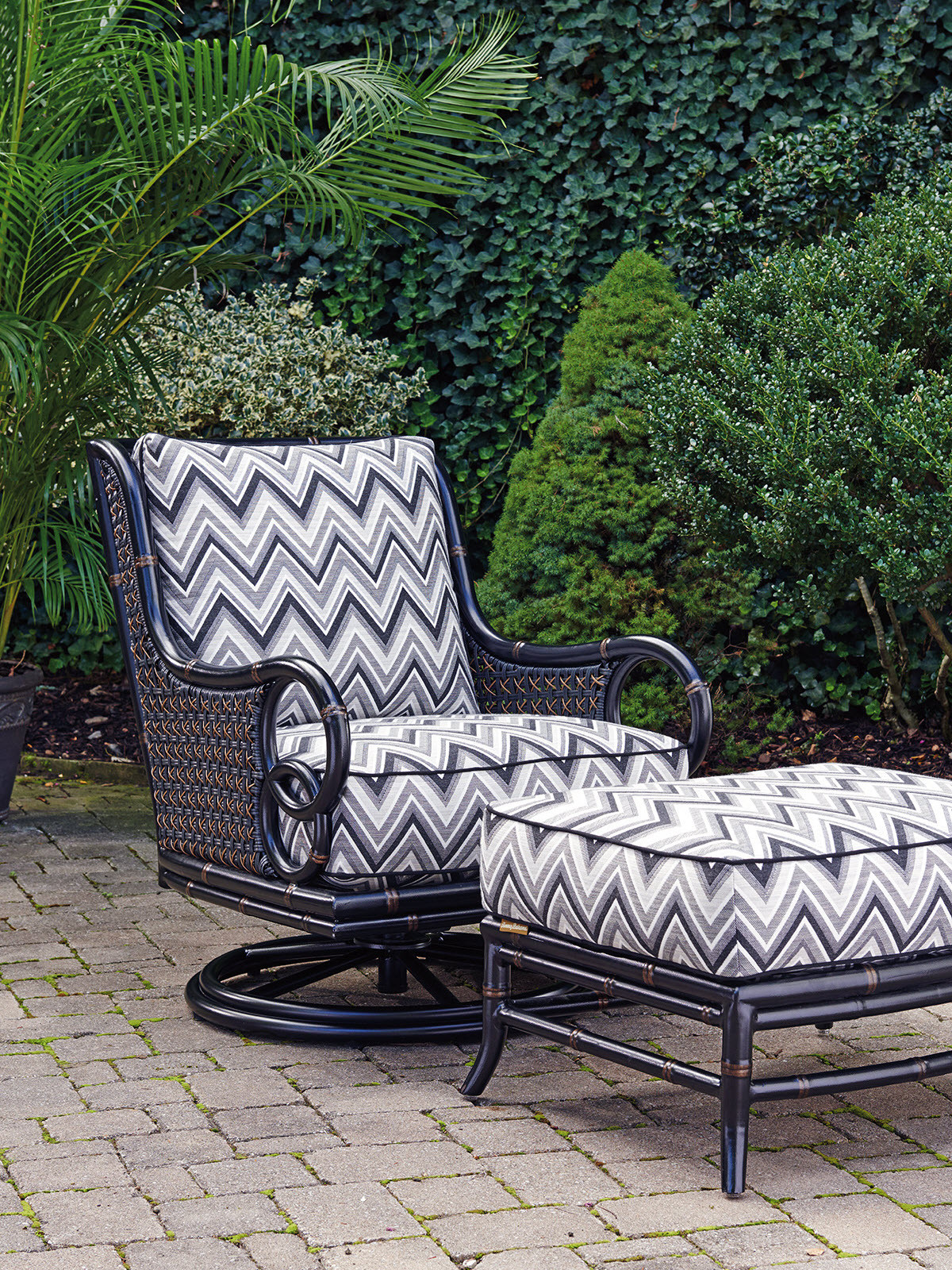 Swivel Rocker Lounge Chair Lexington Home Brands
