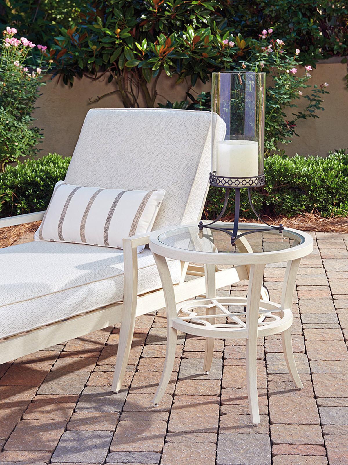 Round End Table   Lexington Home Brands