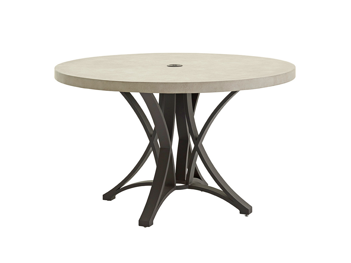 Dining Table W Weatherstone Top Lexington Home Brands
