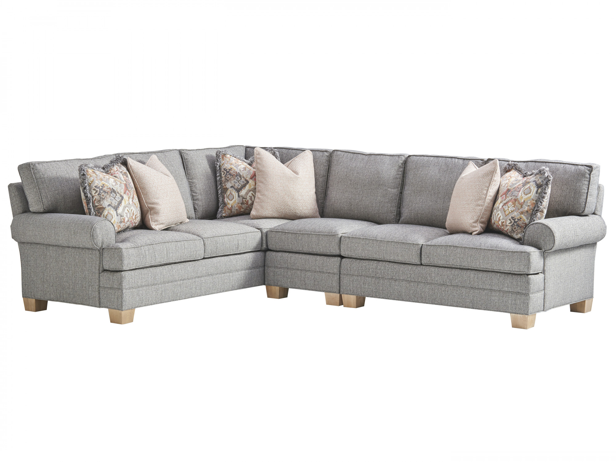 Peachy Tanner Sectional Lexington Home Brands Inzonedesignstudio Interior Chair Design Inzonedesignstudiocom