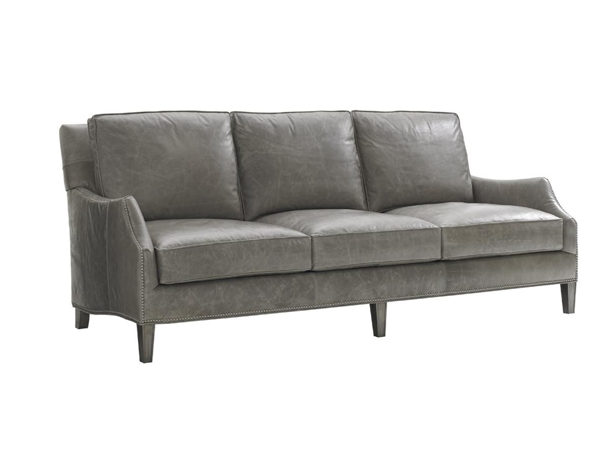 Ashton Leather Sofa | Lexington Home Brands