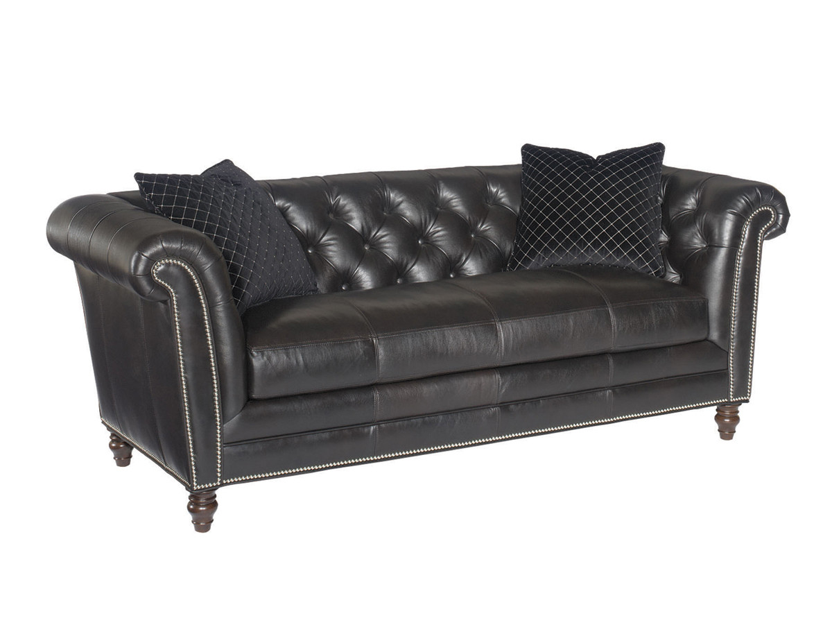 Westchester Leather Sofa Lexington Home Brands