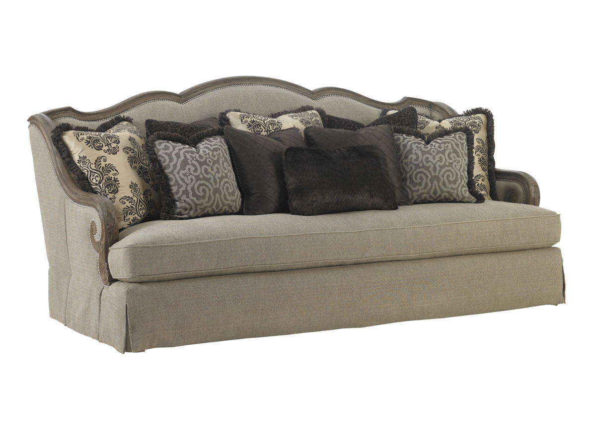 Terrific Aragon Sofa Lexington Home Brands Inzonedesignstudio Interior Chair Design Inzonedesignstudiocom