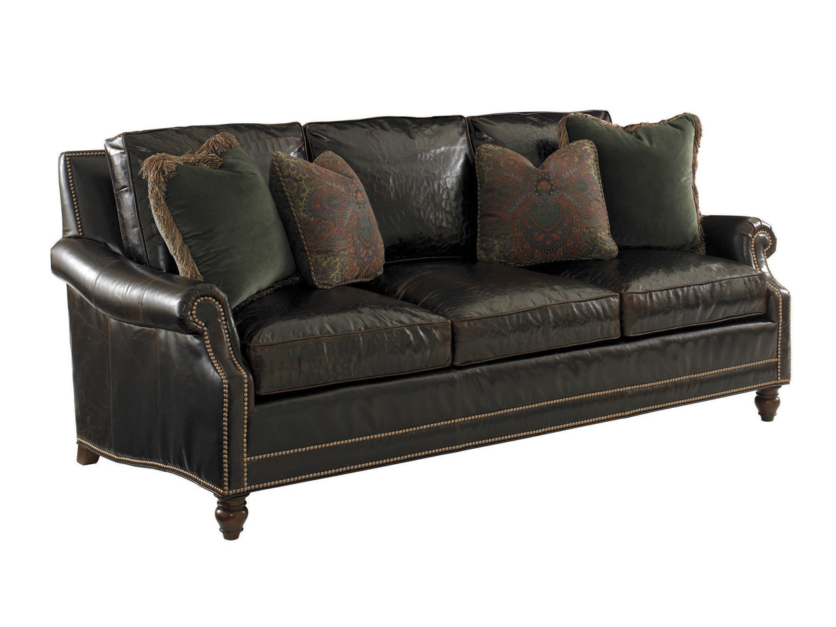 Amazing Shoal Creek Leather Sofa Lexington Home Brands Forskolin Free Trial Chair Design Images Forskolin Free Trialorg