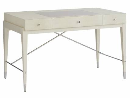 Camarillo Faux Shagreen Writing Desk