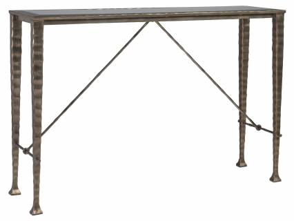 Cortona Console With Glass Top