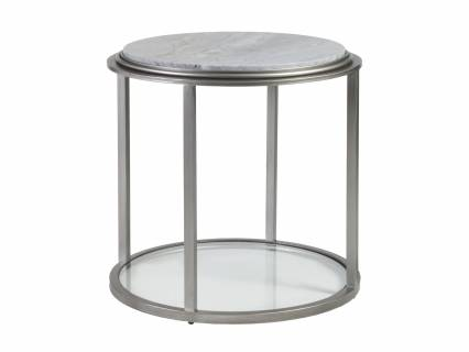 Treville Round End Table