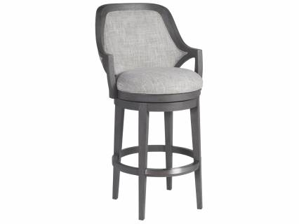 Appellation Upholstered Swivel Barstool