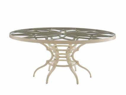 Dining Table W/Glass Top