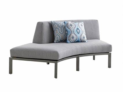 Lsf Curved Sectional Love Seat