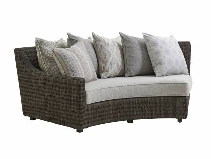 Curved Sectional Laf Sofa