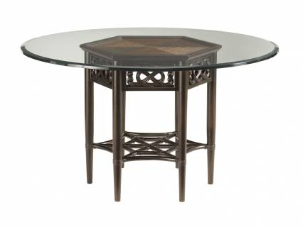 Sugar And Lace Dining Table With Glass Top