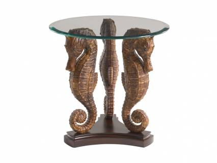Sea Horse Lamp Table