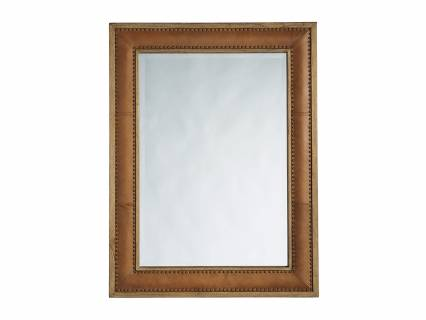 Dominica Leather Rectangular Mirror