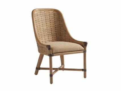 Keeling Woven Side Chair