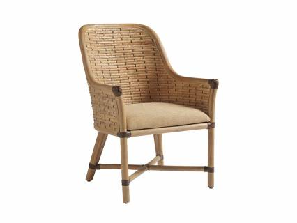 Keeling Woven Arm Chair