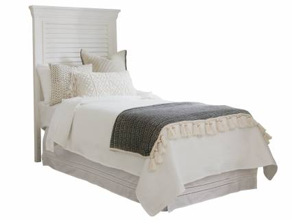 Royal Palm Louvered Headboard