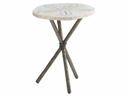 Sand Dollar End Table