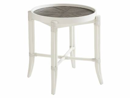 Neptune Round End Table