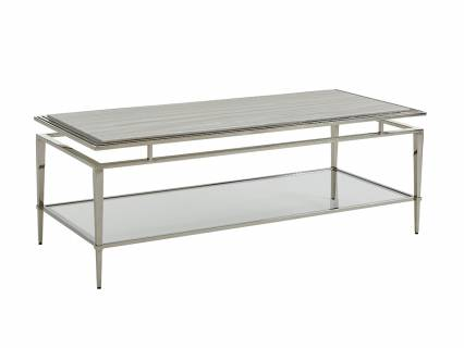 Athene Stainless Cocktail Table