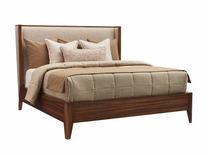 Mirah Upholstered Panel Bed