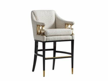 Fabulous Hemsley Upholstered Bar Stool Lexington Home Brands Unemploymentrelief Wooden Chair Designs For Living Room Unemploymentrelieforg
