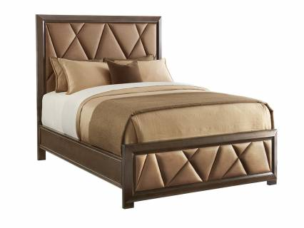 Spectrum Upholstered Panel Bed