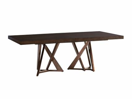 Loggia Rectangular Double Pedestal Dining Table