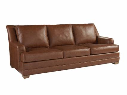 Benton Leather Sofa