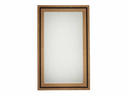 La Costa Rectangular Raffia Mirror