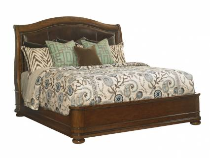 Chandler Mills Sleigh Bed