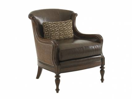 Bluffton Leather Chair