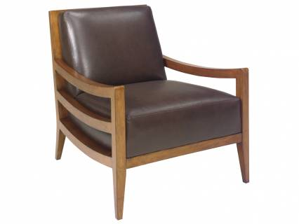 Singapore Leather Chair