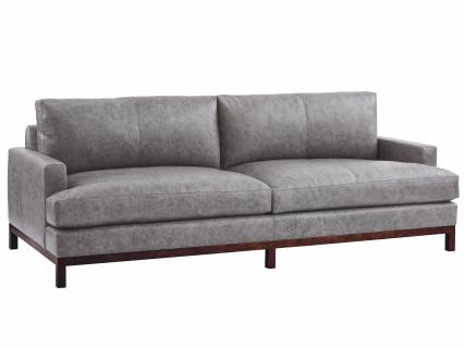 Horizon Leather Sofa - Bronze