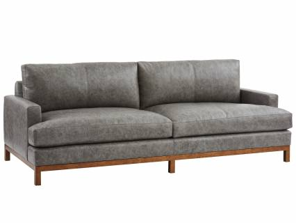 Horizon Leather Sofa - Calais Brass