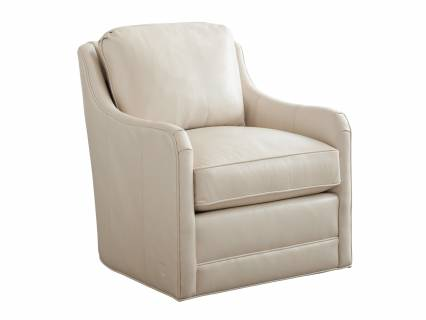 Glennhaven Leather Swivel Chair