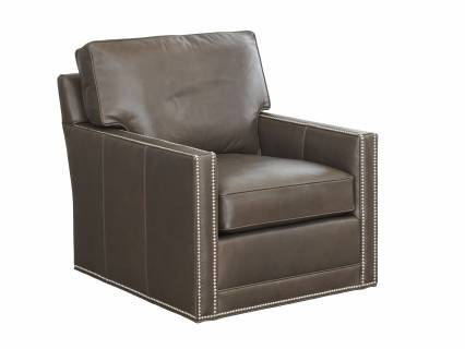 Brayden Leather Swivel Chair