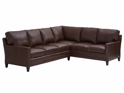 Brayden Leather Sectional