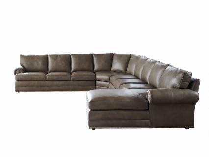 Tyson Leather Sectional