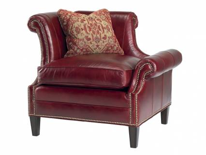 Braddock Left Arm Facing Leather Chair