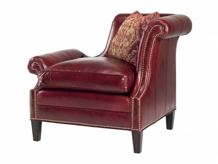 Braddock Right Arm Facing Leather Chair