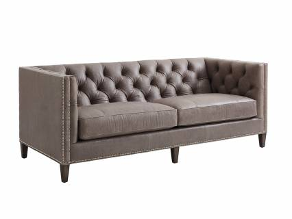 Camille Leather Sofa