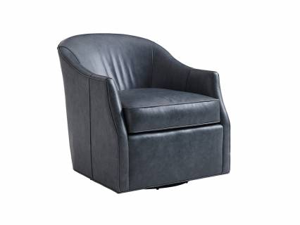 Escala Leather Swivel Chair