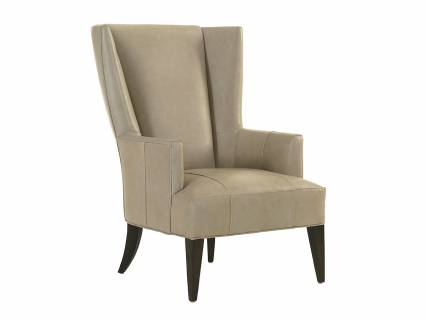 Brockton Leather Wing Chair