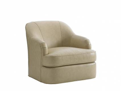 Alta Vista Leather Swivel Chair
