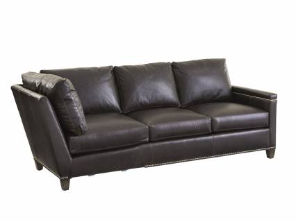 Strada Leather Sectional
