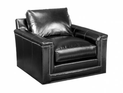 Balance Leather Swivel Chair
